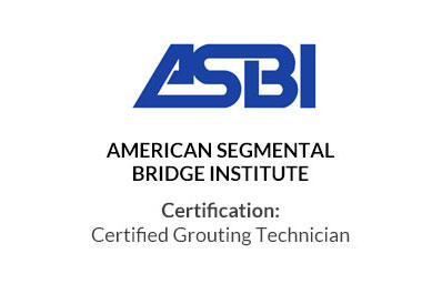 Certified Grouting Technician